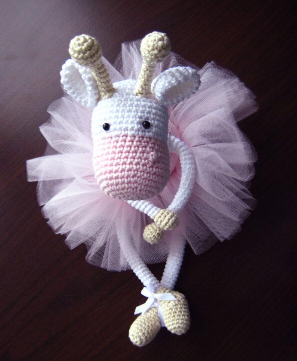 Żyrafa balerina – wzór